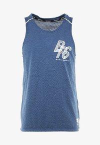 Nike Performance - RISE TANK - Sports shirt - blue void/pure - 6