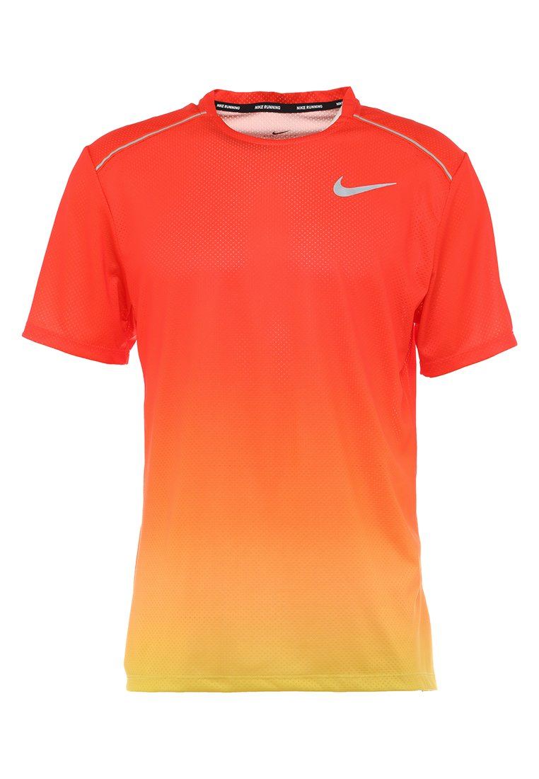Nike Performance DRY MILER T shirt imprimé orange peel