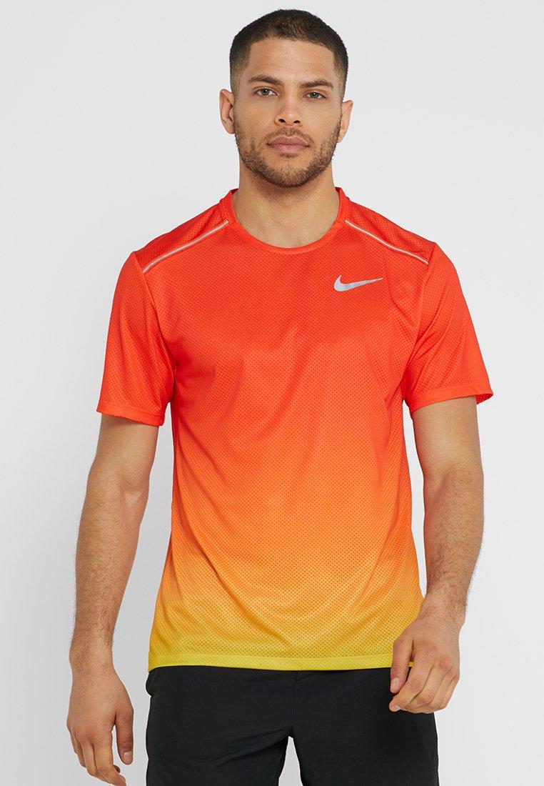 DRY MILER T shirt imprimé orange peelteam orangesilver