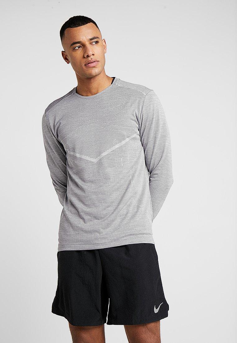Nike Performance - ULTRA - Funktionstrøjer - gunsmoke/atmosphere grey/reflective silver