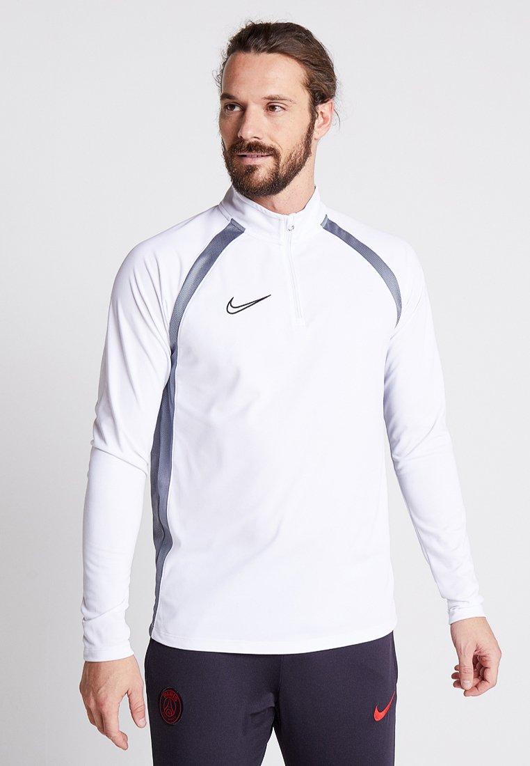 Nike Performance - DRY ACADEMY DRIL - Sports shirt - white/cool grey/black