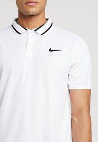 Nike Performance - DRY  - Camiseta de deporte - white/black - 4