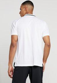 Nike Performance - DRY  - Camiseta de deporte - white/black - 2