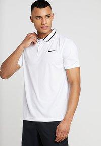 Nike Performance - DRY  - Camiseta de deporte - white/black - 0