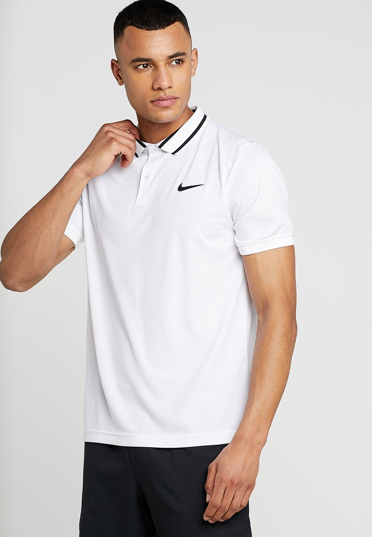 Nike Performance - DRY  - Camiseta de deporte - white/black