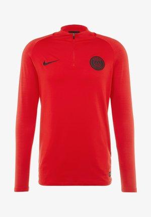 PARIS ST. GERMAIN DRY - Fanartikel - university red/oil grey