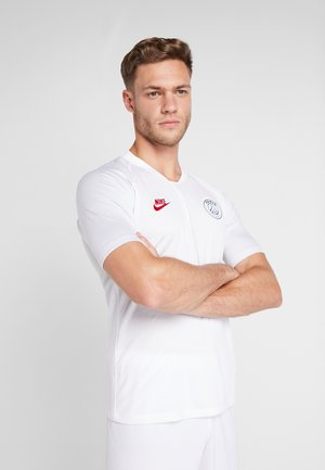 PARIS ST GERMAIN - Klubbklær - white/pure platinum/university red