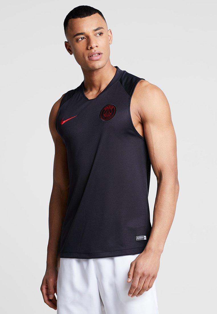 Nike Performance - PARIS ST. GERMAIN - Funktionsshirt - oil grey/obsidian