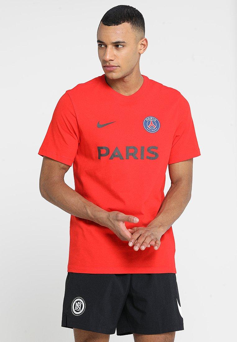 Nike Performance - PARIS ST. GERMAIN TEE CORE MATCH - Vereinsmannschaften - challenge red