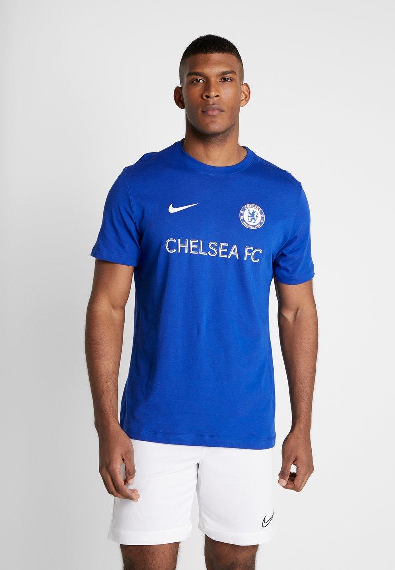 Nike Performance - CHELSEA LONDON FC TEE CORE MATCH - Equipación de clubes - rush blue