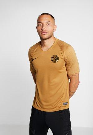 INTER MAILAND  - Equipación de clubes - muted bronze/truly gold/black
