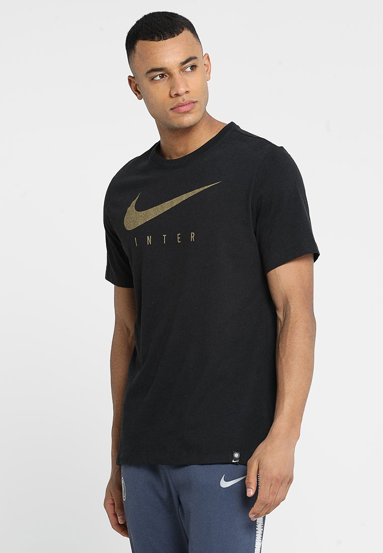 Nike Performance - INTER MAILAND M DRY TEE GROUND - Camiseta estampada - black