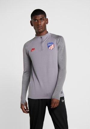 ATLETICO MADRID DRY  - Club wear - gunsmoke/thunder grey/sport red