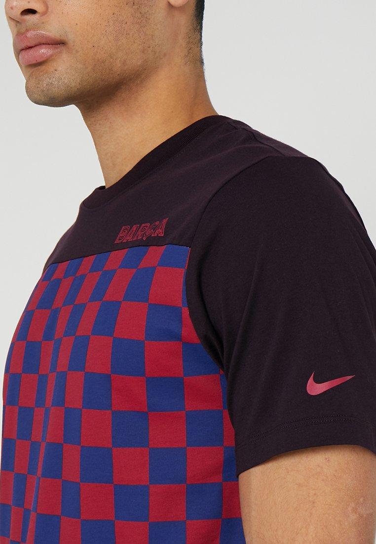 Tee Performance Travel Ash Fc Imprimé Burgundy shirt Barcelona CrestT Nike DH9WEI2