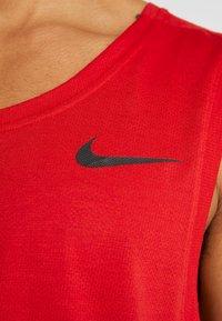 Nike Performance - TANK DRY - Funktionsshirt - university red/black - 4
