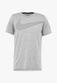 Nike Performance - DRY  - Camiseta estampada - grey heather/black - 4