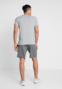 Nike Performance - DRY  - Camiseta estampada - grey heather/black - 2