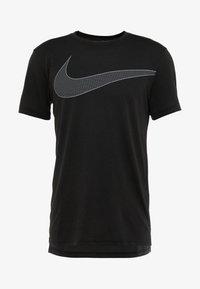 Nike Performance - DRY  - T-shirt imprimé - black/white - 3