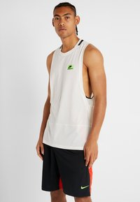 Nike Performance - DRY TANK  - T-shirt de sport - pale ivory/black - 2