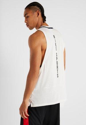DRY TANK  - T-shirt de sport - pale ivory/black
