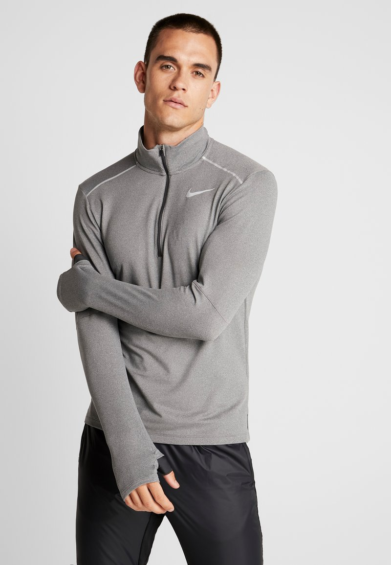 Nike Performance - Camiseta de deporte - smoke grey/heather/reflective silver