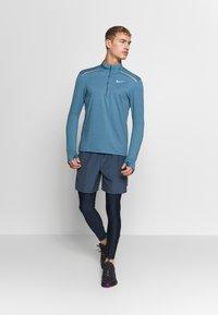 Nike Performance - Sports shirt - thunderstorm/cerulean/reflective silver - 1