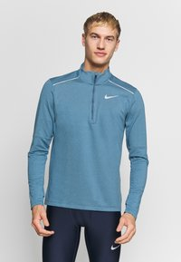 Nike Performance - Sports shirt - thunderstorm/cerulean/reflective silver - 0