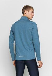 Nike Performance - Sports shirt - thunderstorm/cerulean/reflective silver - 2