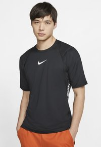 Nike Performance - AEROADAPT - T-shirt imprimé - black - 0