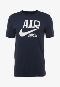 Nike Performance - M NK DRY TEE A.I.R. COLLECTION - Triko spotiskem - obsidian/white - 3