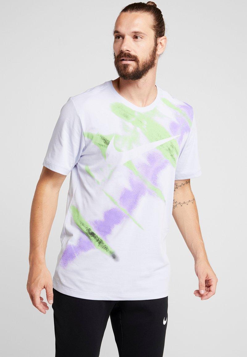 Nike Performance - DRY NATURAL HIGH - Camiseta estampada - lilac