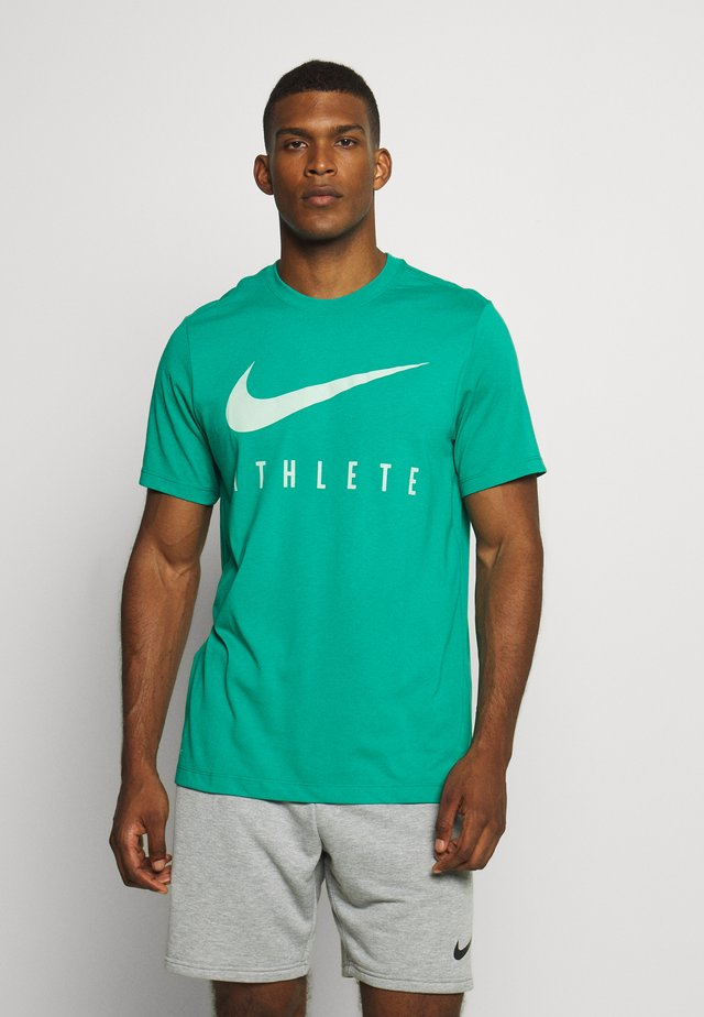 DRY TEE ATHLETE - T-shirt print - neptune green