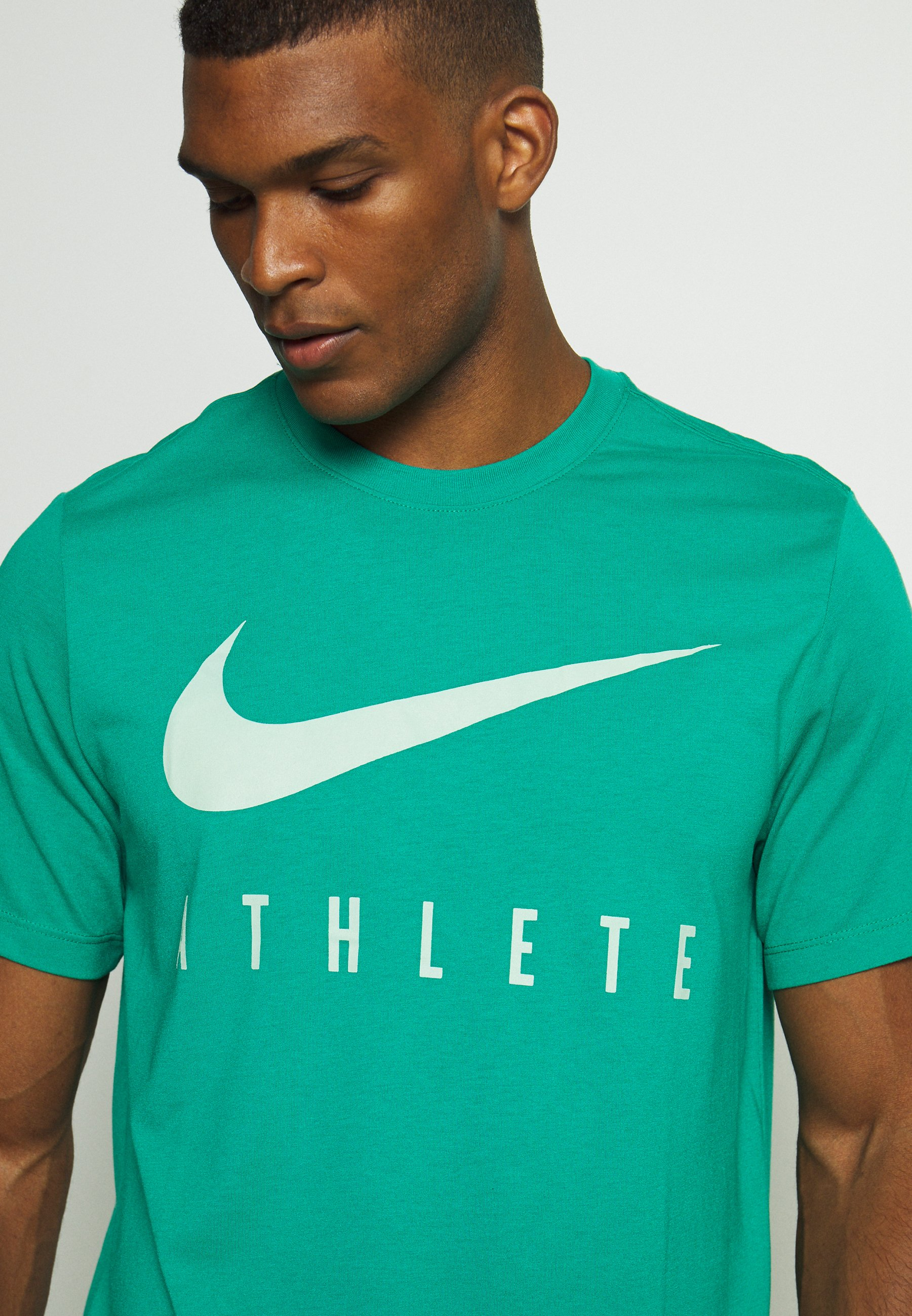 DRY TEE ATHLETE T shirt imprimé neptune green
