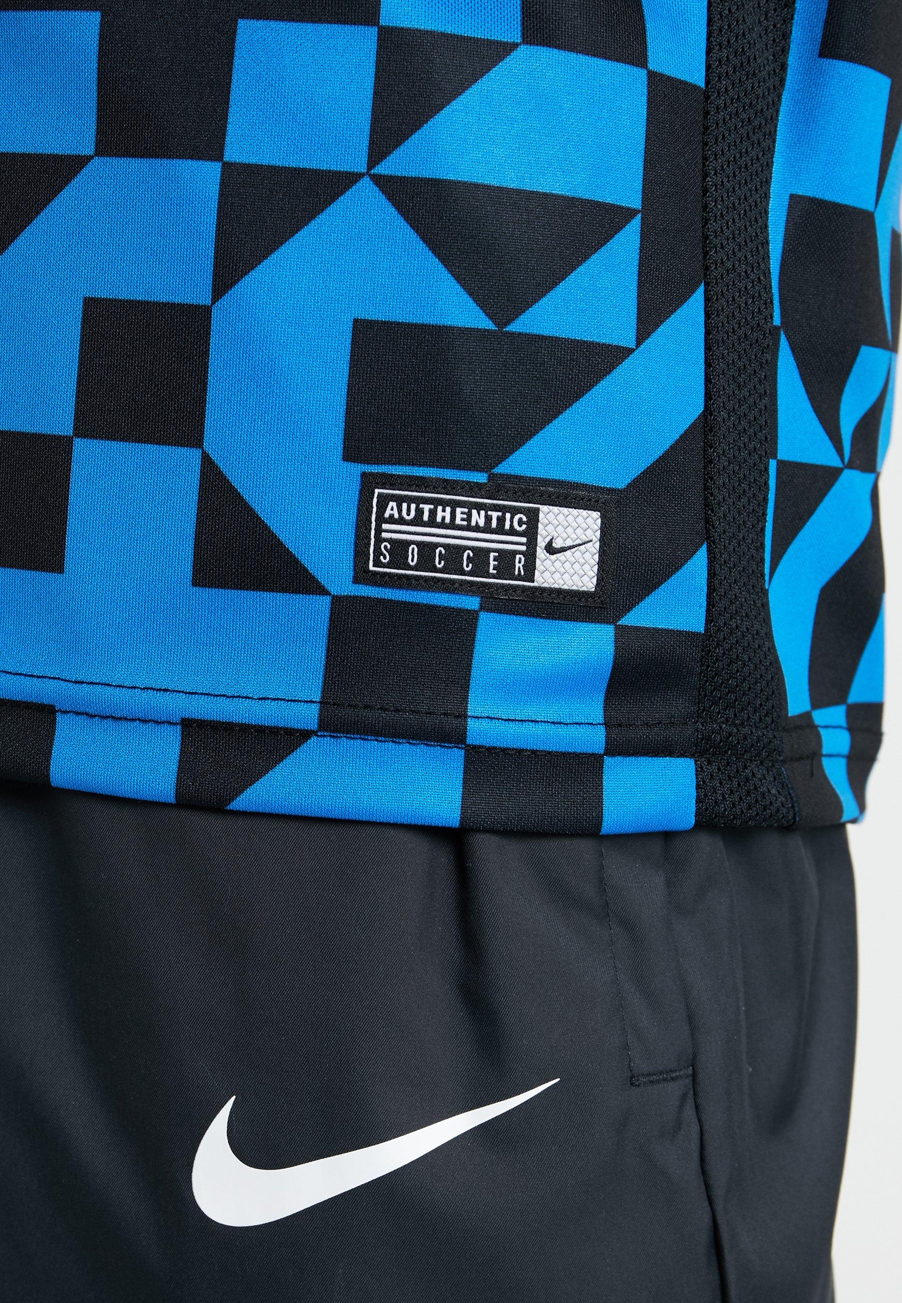Nike Performance INTER MAILAND DRY - T-shirt z nadrukiem - blue spark/black/white