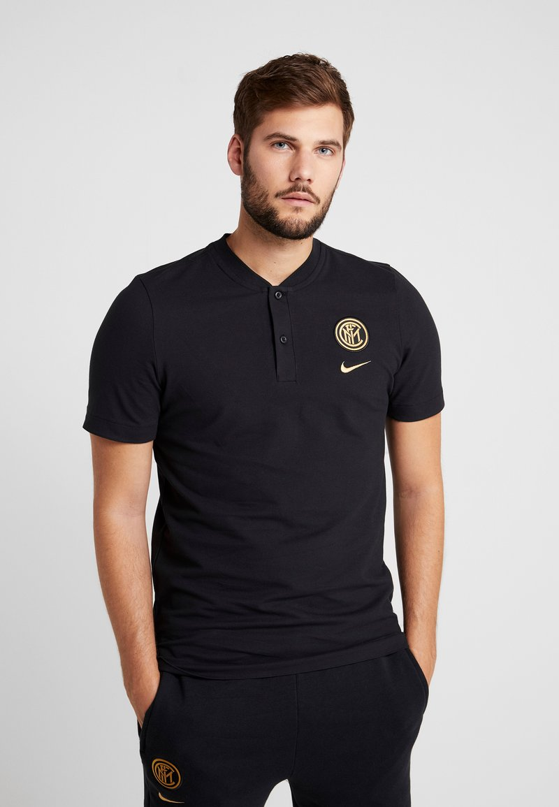 Nike Performance - INTER MAILAND MODERN - T-shirts print - black/truly gold
