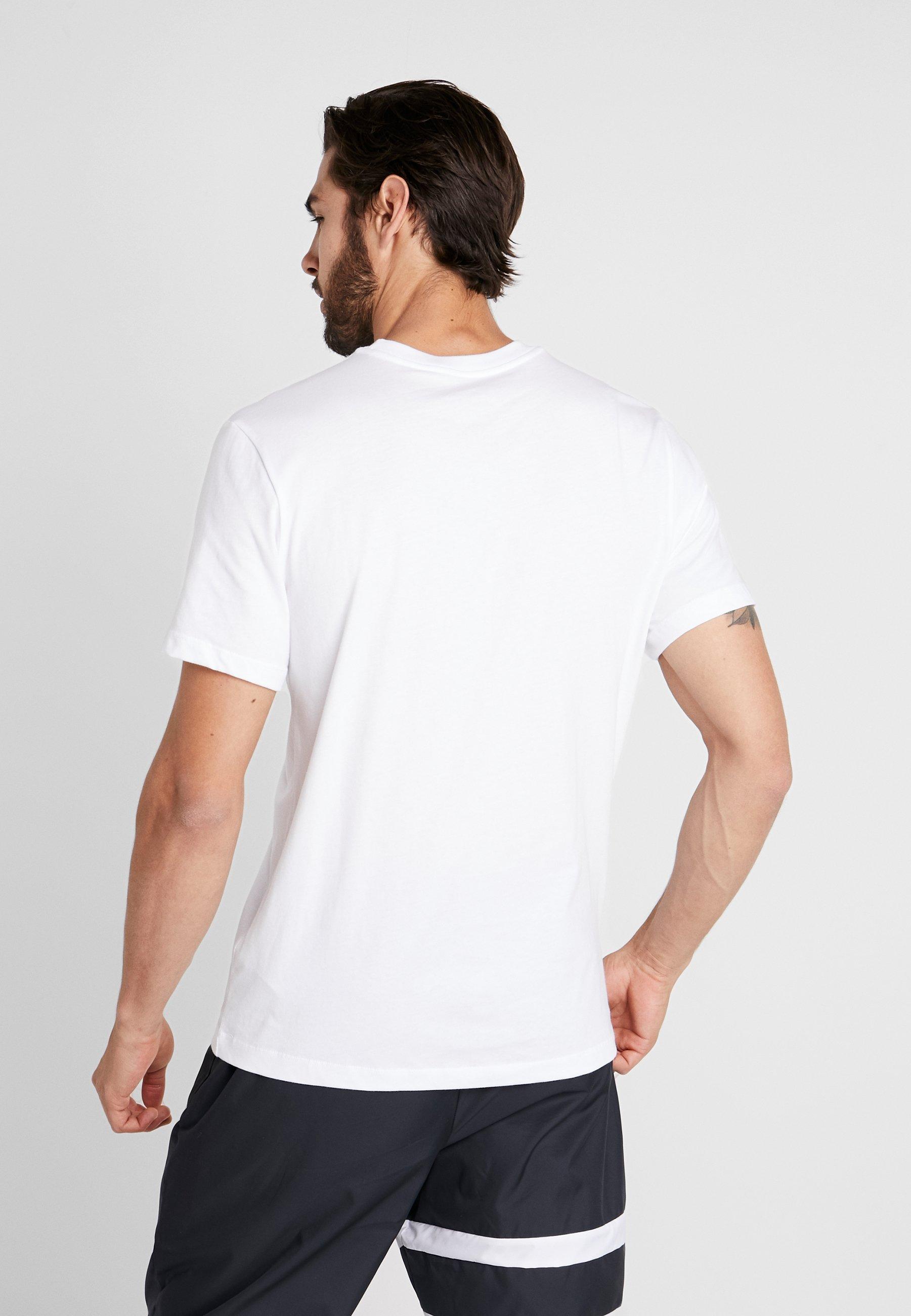 Tee De Nike Rom Supporter Performance CrestArticle As Evergreen White 3AR54jL