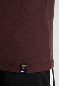 Nike Performance - AS ROM TEE TRAVEL CREST - Club wear - deep burgundy - 5