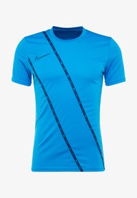 Nike Performance - DRY - Camiseta estampada - light photo blue/coastal blue - 4