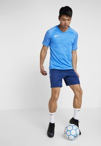 Nike Performance - T-shirt z nadrukiem - light photo blue/coastal blue/white - 1