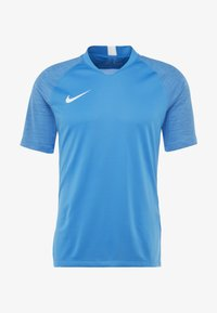 Nike Performance - T-shirt z nadrukiem - light photo blue/coastal blue/white - 3