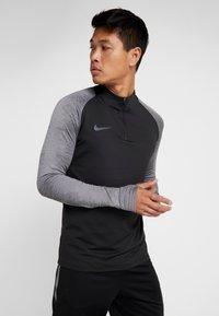 Nike Performance - DRY - Tekninen urheilupaita - black/wolf grey/anthracite - 0