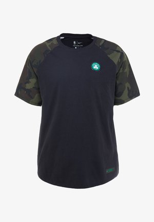 NBA BOSTON CELTICS CAMO TEE - Print T-shirt - black/clover