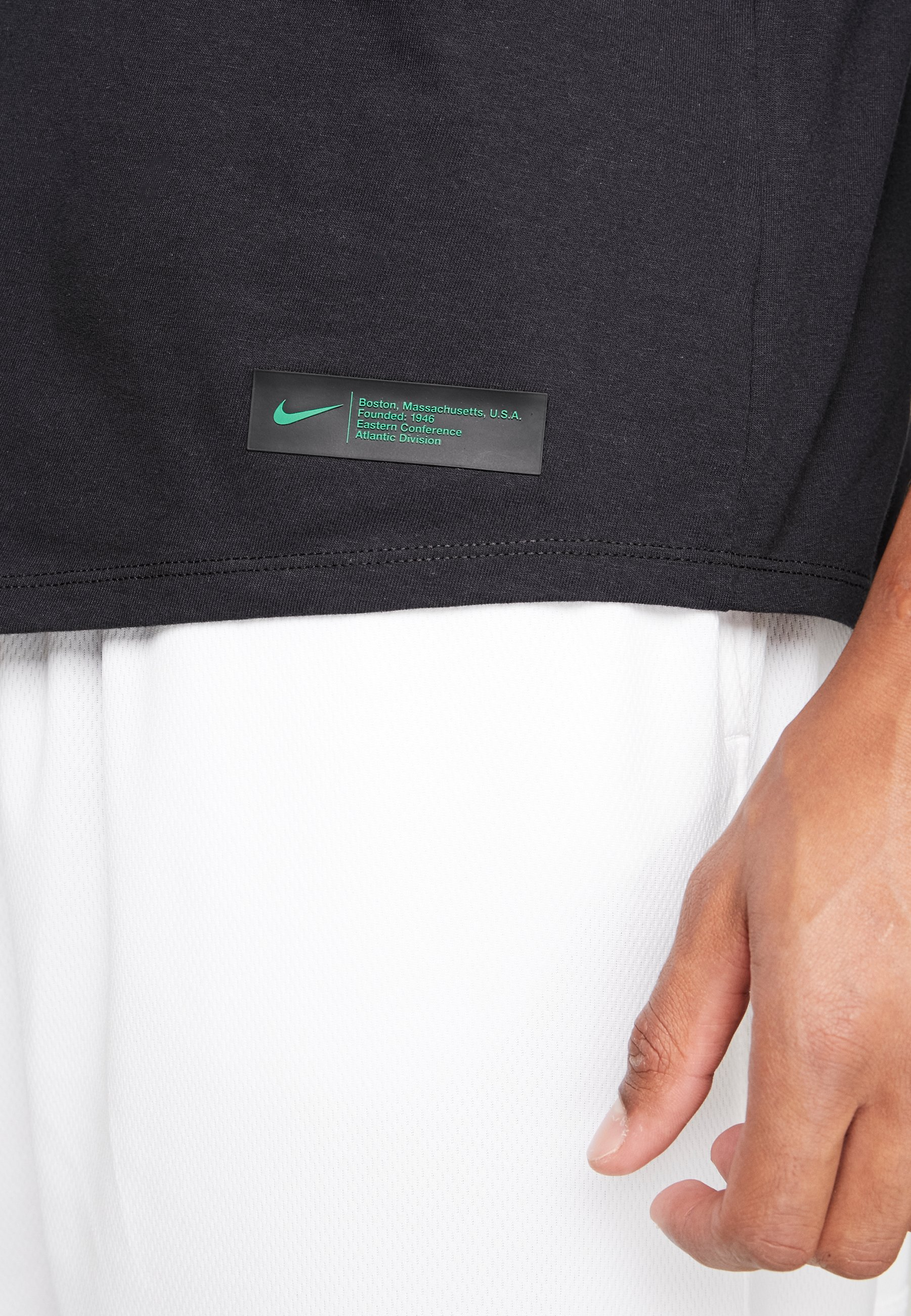 Stampa Performance Camo shirt Con Celtics Nba TeeT Boston Nike Black clover f67bYgy
