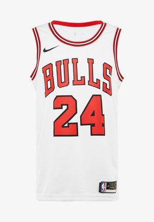 NBA CHICAGO BULLS LAURI MARKKANEN SWINGMAN - Equipación de clubes - white/university red/black