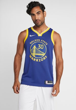 NBA GOLDEN STATE WARRIORS STEPH SWINGMAN - Klubtrøjer - rush blue/white/amarillo/steph curry