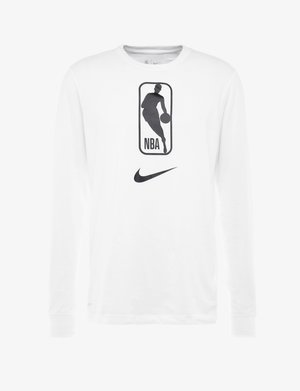 NBA LONG SLEEVE - Sports shirt - white