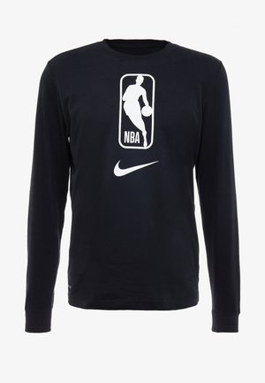 NBA LONG SLEEVE - Camiseta de deporte - black/white