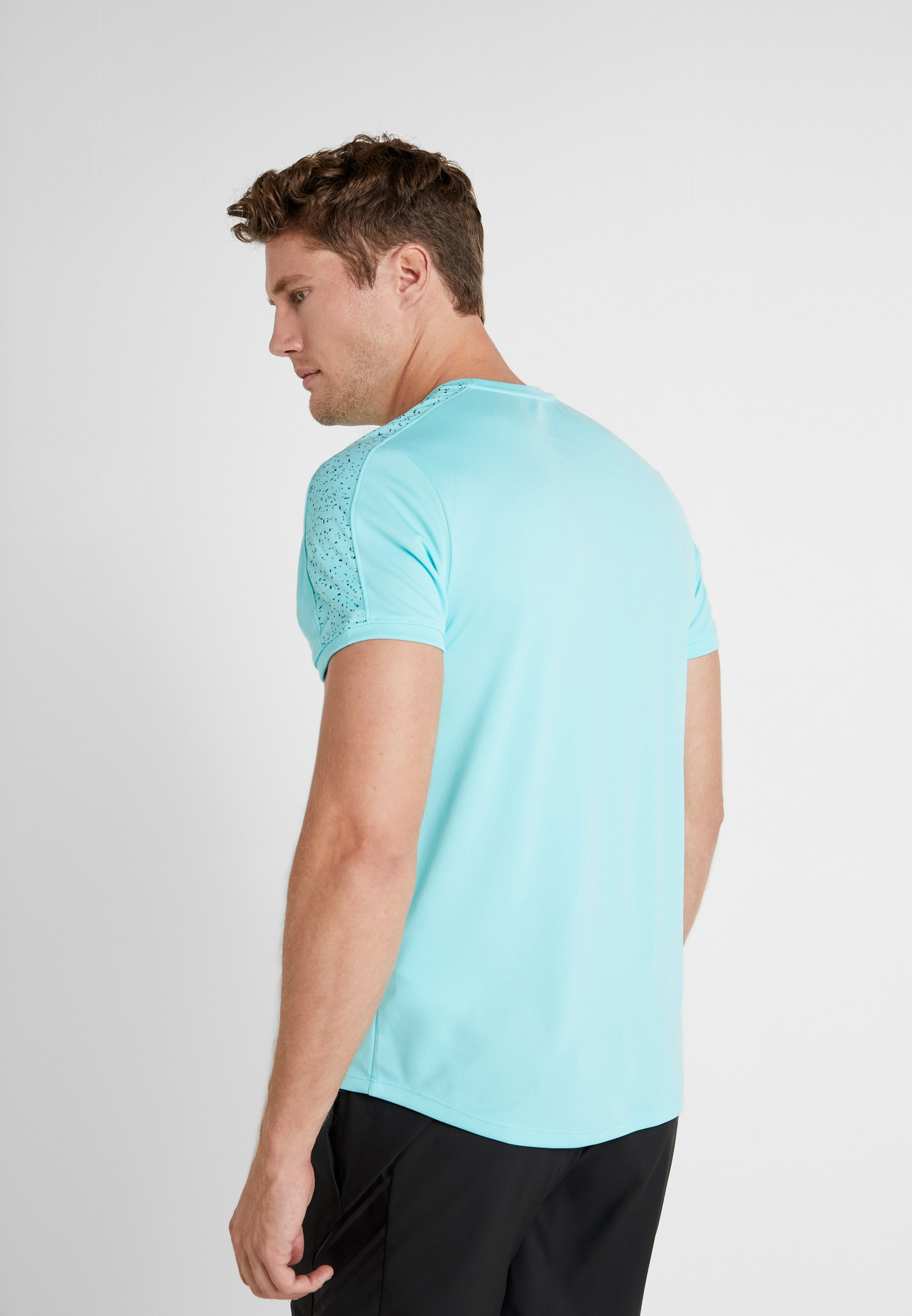 Performance Light Aqua DryT shirt Nike Con Stampa black l1KJcu3TF