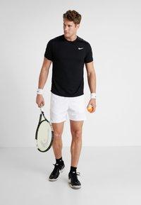 Nike Performance - DRY - Camiseta estampada - black/white - 1