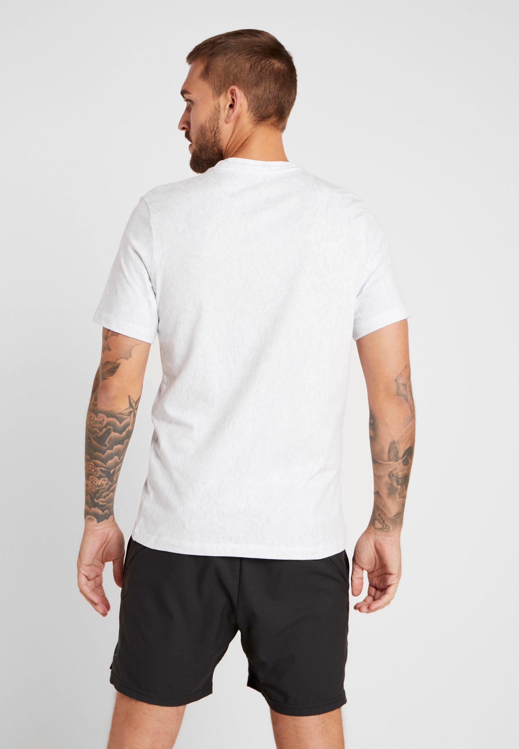 Nike White Tee shirt WimbledonT Performance Imprimé QWderoExBC